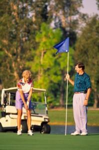 golfing in Llandudno