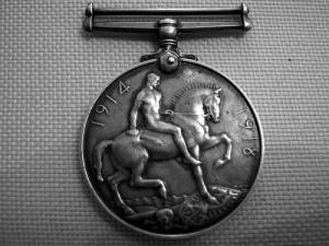 LLandudno war medal